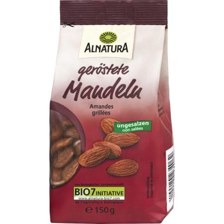 Alnatura Bio Mandeln geröstet & ungesalzen