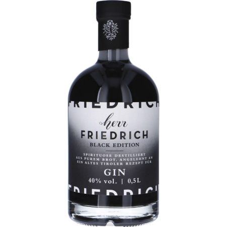 Therese Mölk Herr Friedrich Gin Black Edition 40 %