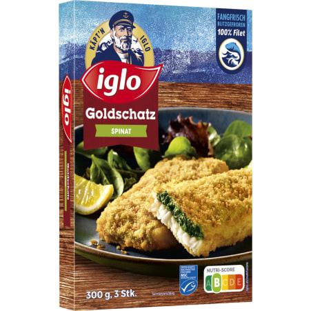 iglo Goldschatz Spinat MSC 300 gr