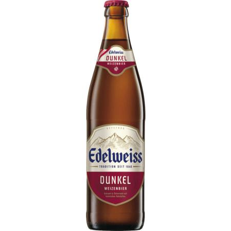 EDELWEISS Weißbier Dunkel 0,5 Liter Mehrweg-Flasche
