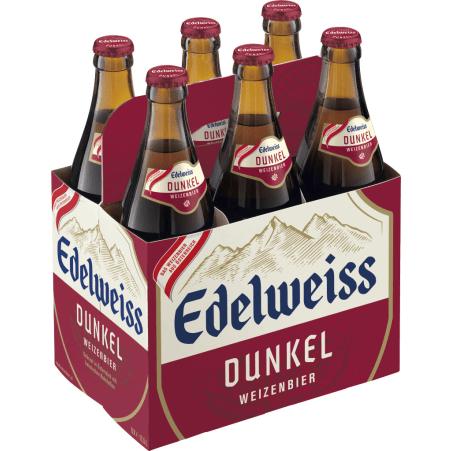 Edelweiss Weißbier Dunkel Tray 6x 0,5 Liter