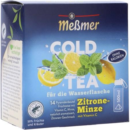 MESSMER Cold Tea Zitrone Minze