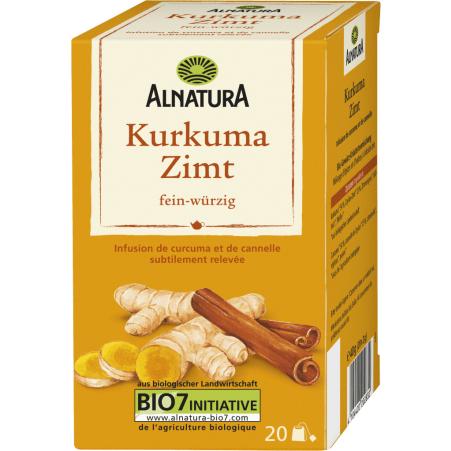 Alnatura Bio Kurkuma-Zimt Tee