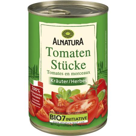 Alnatura Bio Tomatenstücke Kräuter