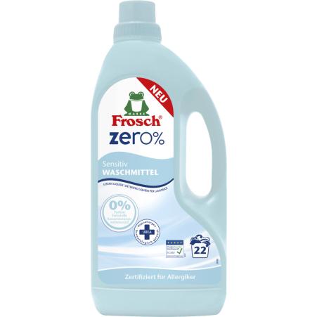 Frosch Waschmittel zero% Sensitiv 22 Waschgänge