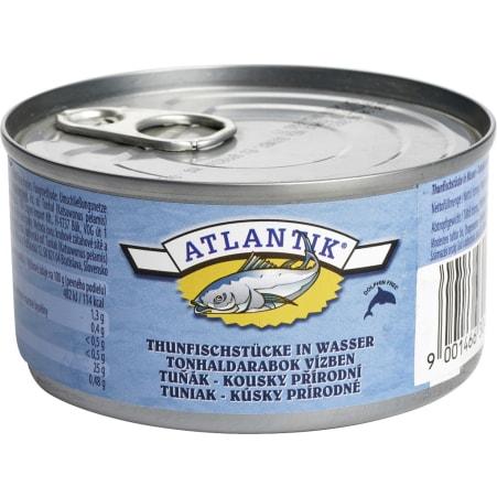 Atlantik Thunfisch naturell