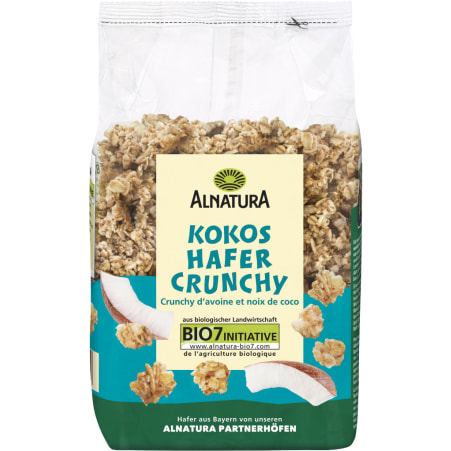 Alnatura Bio Kokos Crunchy mit Hafer