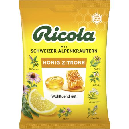 Ricola Kräuterbonbon Echinacea Honig Zitrone