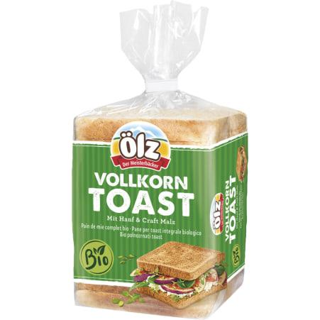 Ölz der Meisterbäcker Bio Vollkorn Toast Hanf & Craft Malz