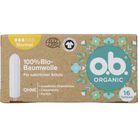O.B. Bio Organic Tampon Normal