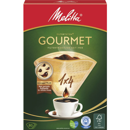 MELITTA Kaffeefilter 1x4 80er-Packung