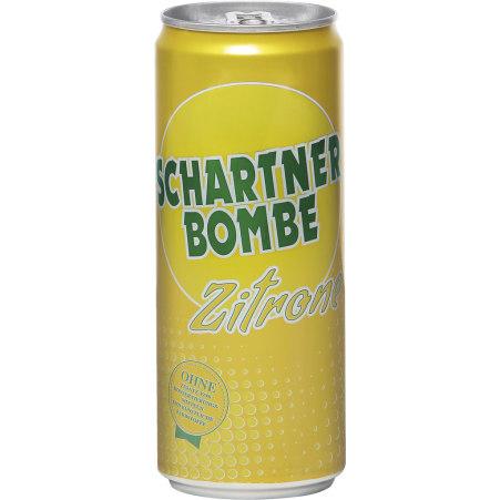 Schartner Bombe Zitrone 0,33 Liter Dose