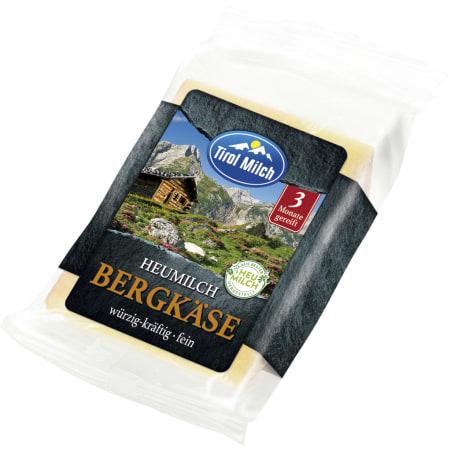 Tirol Milch Heumilch Bergkäse 45%