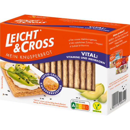 Leicht & Cross Knusperbrot Vital