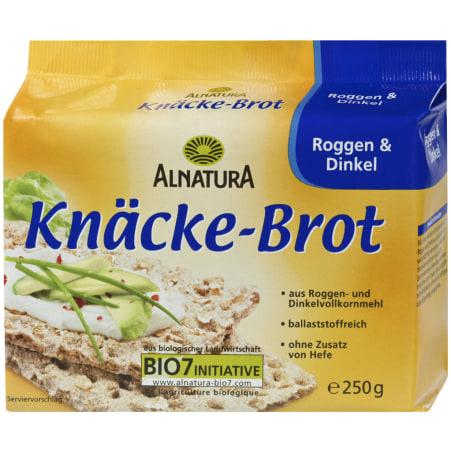 Alnatura Bio Knäckebrot Roggen und Dinkel