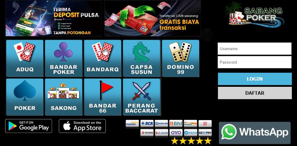 Situs Judi Online QiuQiu, Poker Online Terbaik, DominoQQ - Sabangpoker