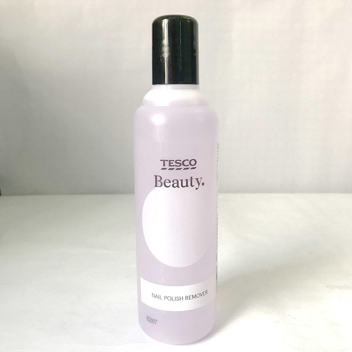 Tesco Beauty Nail Polish Remover 250ml