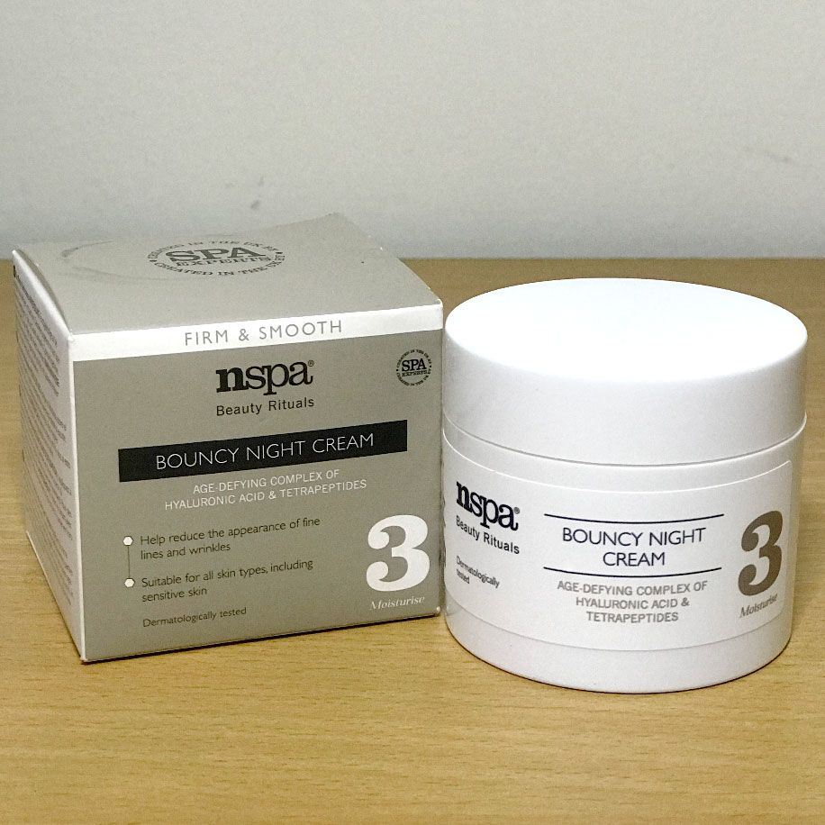 Nspa Beauty Rituals Bouncy Night Cream 50ml