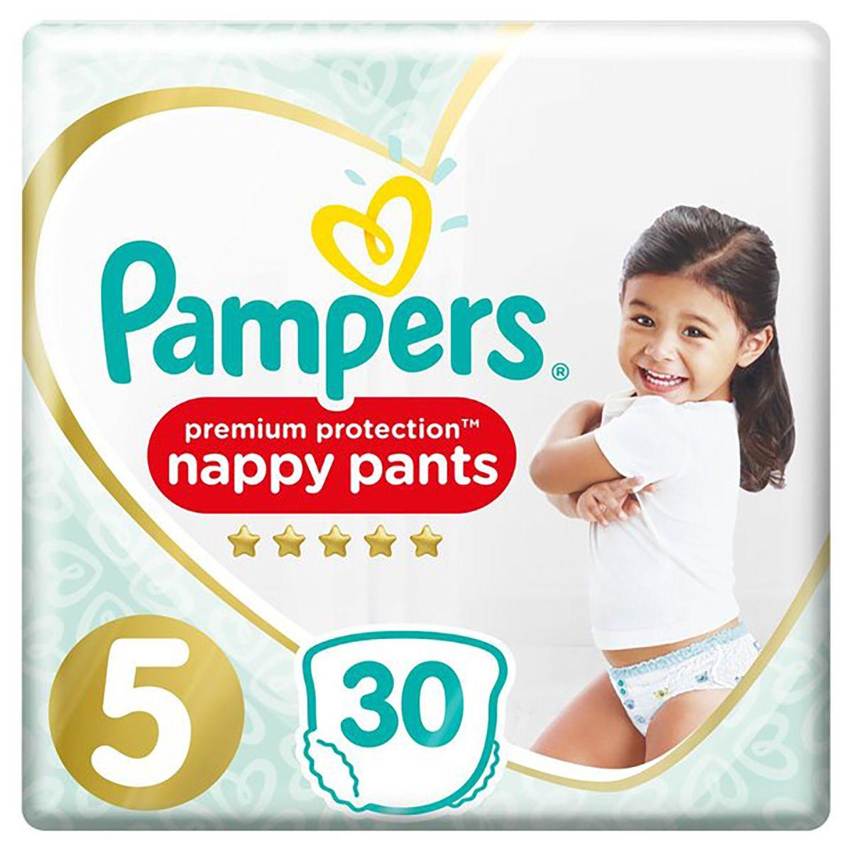 Pampers Premium Protection Nappy Pant Diaper - Size 5 - 30pcs