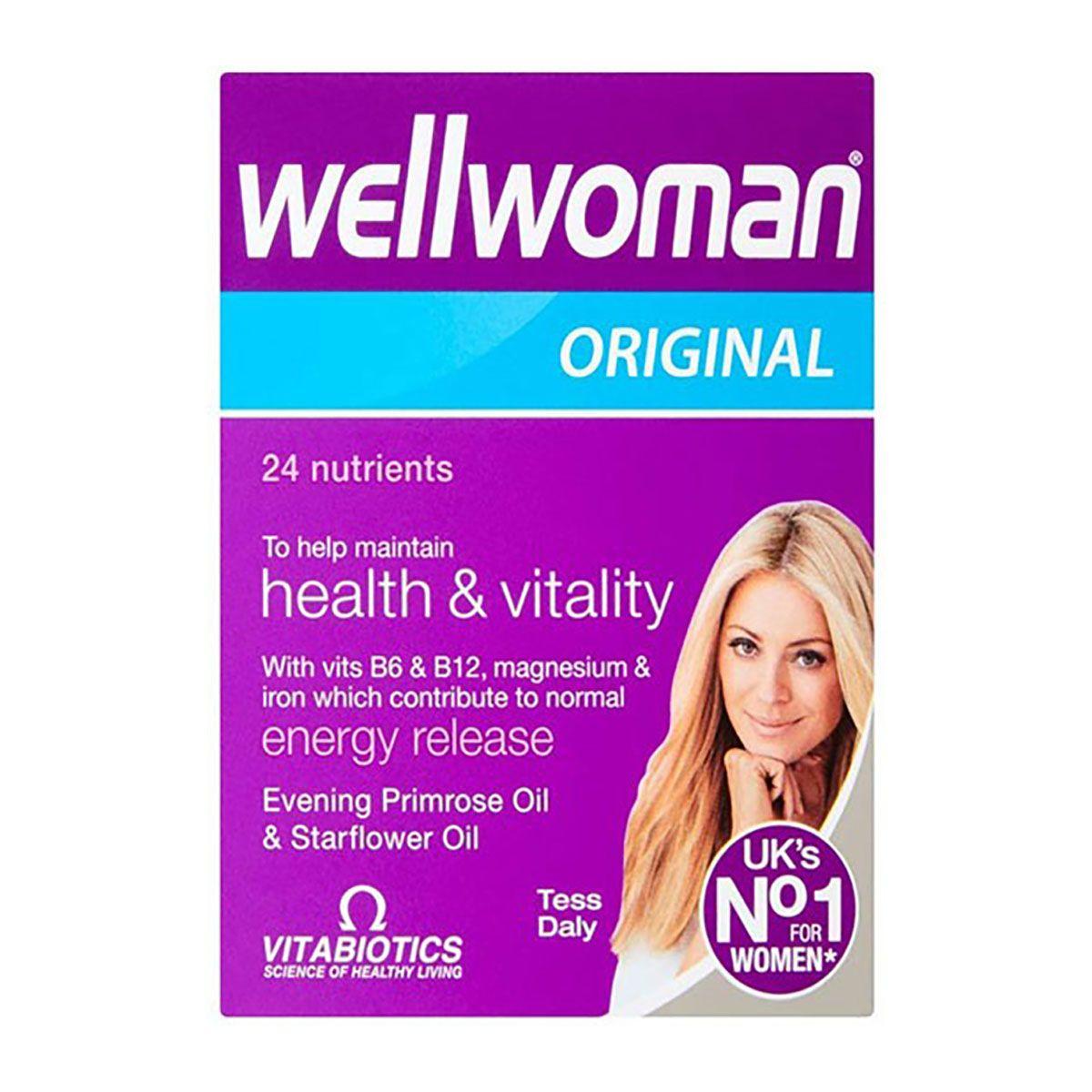 Vitabiotics Wellwoman Original 24 Nutrients To Help Maintain Health & Vitality