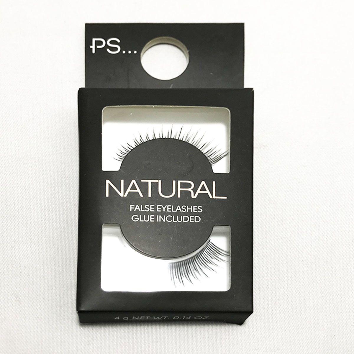 Primark Natural False Eyelashes Glue Included