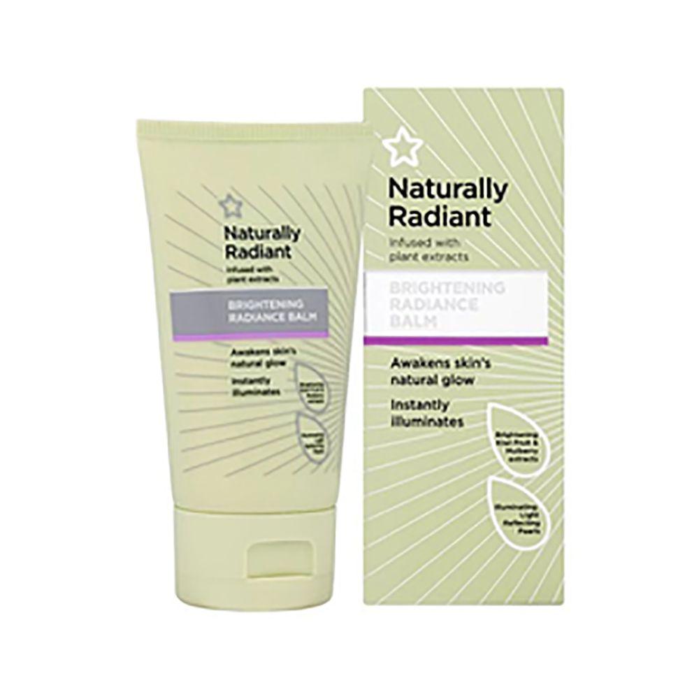 Superdrug Naturally Radiant Brightening Radiance Balm 50ml/100ml