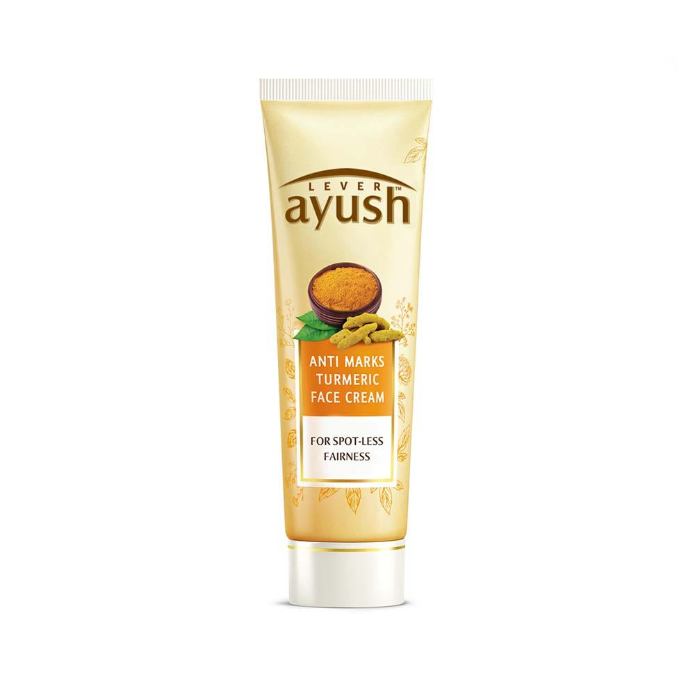 Lever Ayush Anti Marks Turmeric Face Cream 25g / 50g