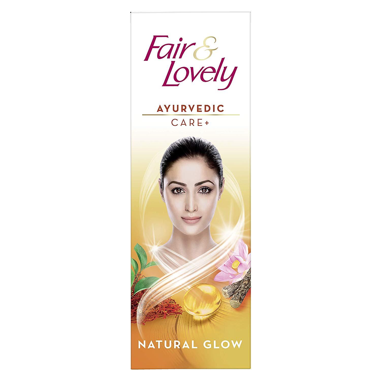 Fair & Lovely Fairness Cream Ayurvedic Care 25g / 50g