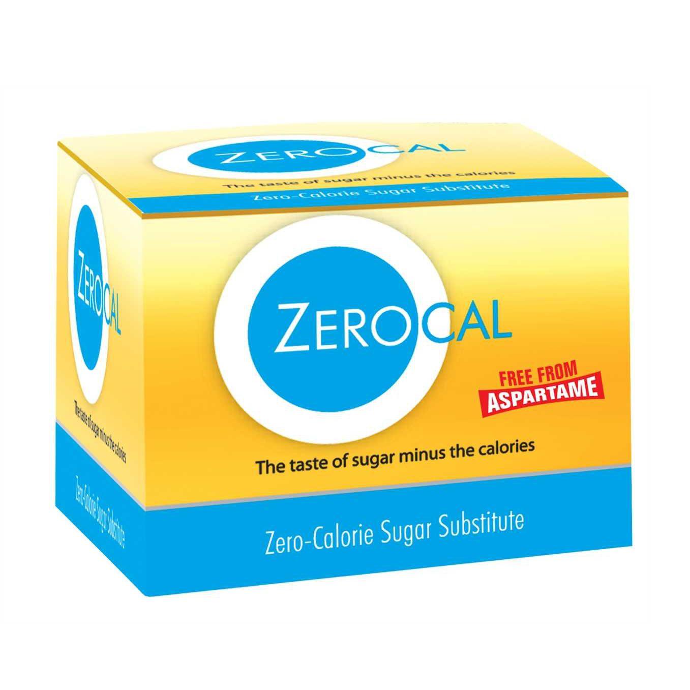 Zerocal Sachet Sugar Free Substitute Sweetener 25 pcs / 75 pcs / 150 pcs