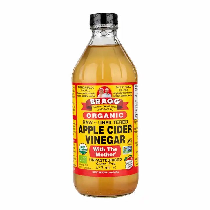 Bragg Organic Raw Apple Cider Vinegar with The Mother 473ml / 946ml