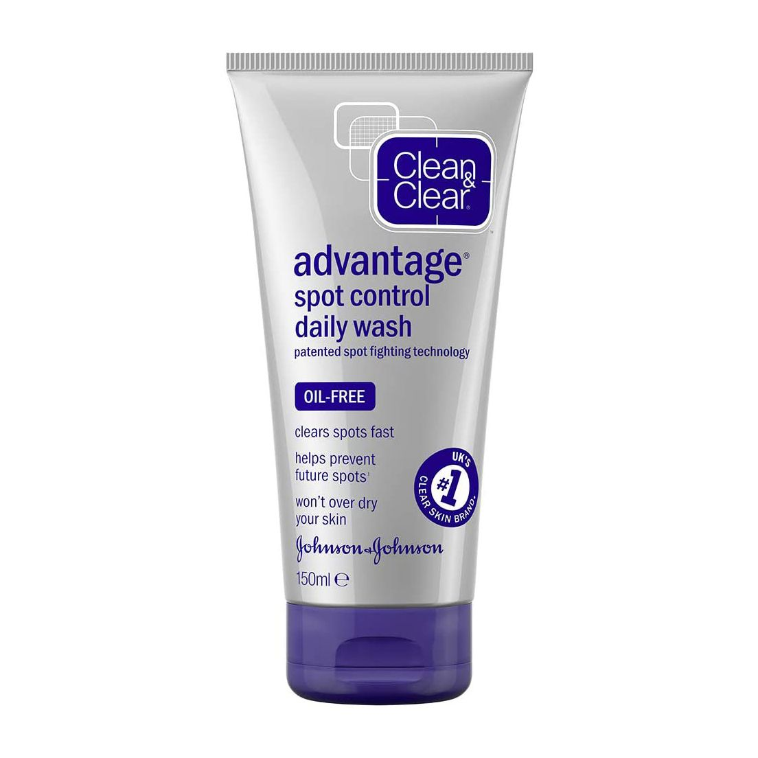 Clean & Clear Advantage Fast Action Daily Wash 150ml