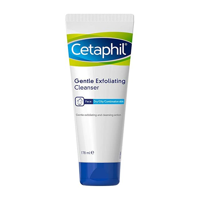 Cetaphil Gentle Exfoliating Cleanser Dry/Oily/Combination Skin 178ml