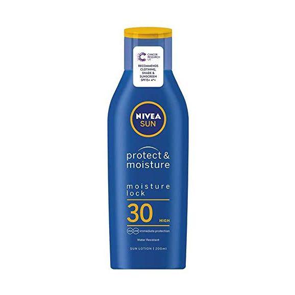 Nivea Protect & Moisture 30 Sun Lotion 200ml