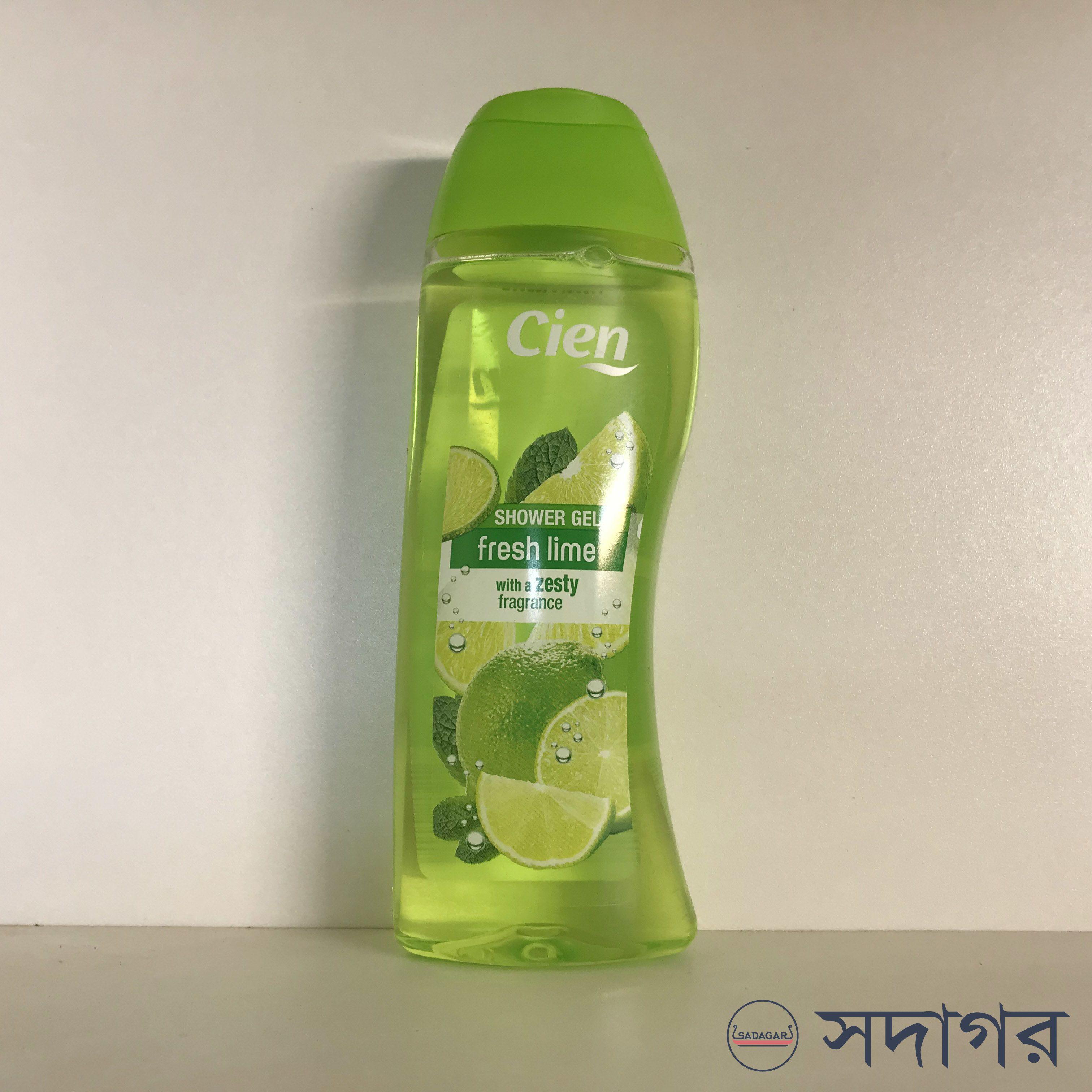 Cien Fresh Lime with a Zesty Fragrance Shower Gel 300ml