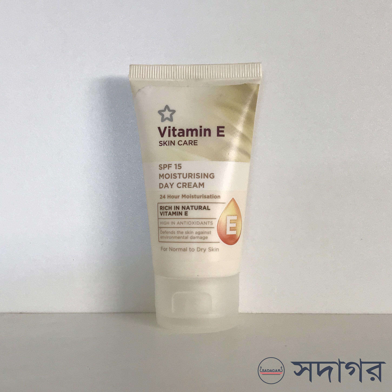Superdrug Vitamin E Moisturising Day Cream 50ml
