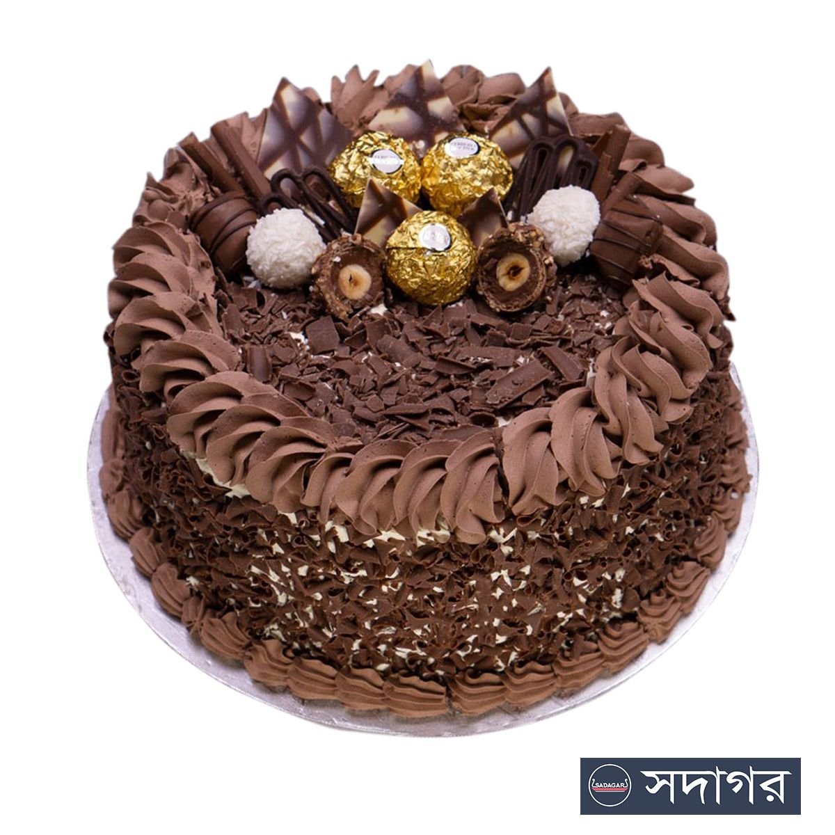 Happy Birthday Round Cake Theme 011