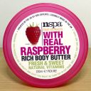 NSPA Fruit Extracts With Real Raspberry Rich Body Butter
