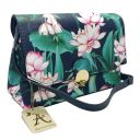 Accessorize Lotus Printed Body Strap Bag