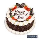 Happy Birthday Round Cake Theme 006
