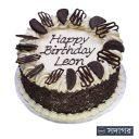 Happy Birthday Round Cake Theme 009