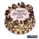 Happy Birthday Round Cake Theme 013