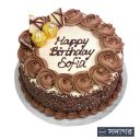 Happy Birthday Round Cake Theme 017