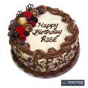 Happy Birthday Round Cake Theme 018