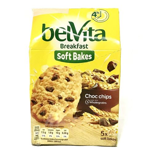 Belvita Breakfast Soft Bakes Wholegrain Biscuits 5 pcs
