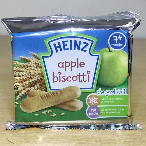 Heinz Apple Biscotti Bread Stick 7+ Month