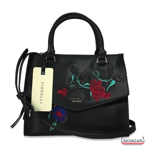Fiorelli Mia Grabs Shoulder Embroidered Bag With  Shoulder Strap