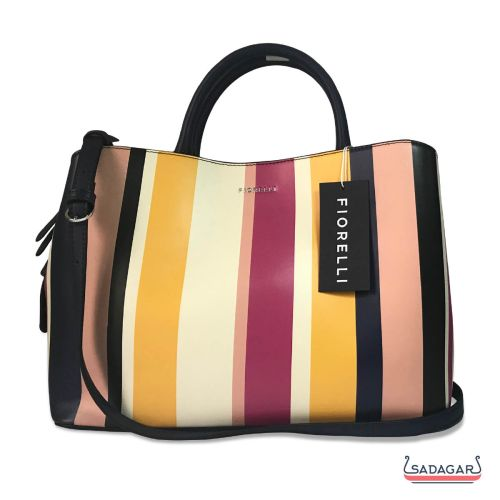 Fiorelli Mia Grab Striped Cross Body Bag