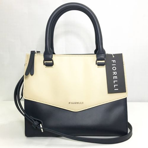 Fiorelli Mia Grabs Black and White  Body Bag  With  Shoulder Strap