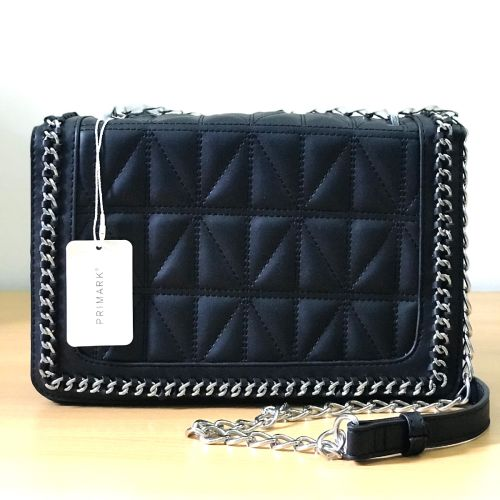 Primark Diamond Quilted Crossbody with Chain Shoulder Strap
