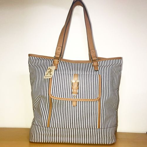 Accessorize Madeline Stripe Shopper Bag